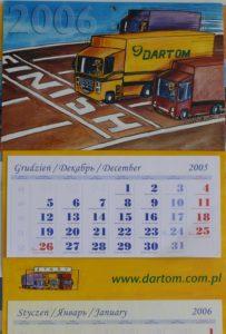 Kalendarz jednoplanszowy