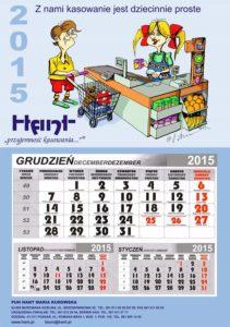 Karykatury na kalendarzu