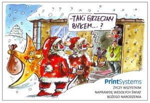 Humor - kartka świąteczna
