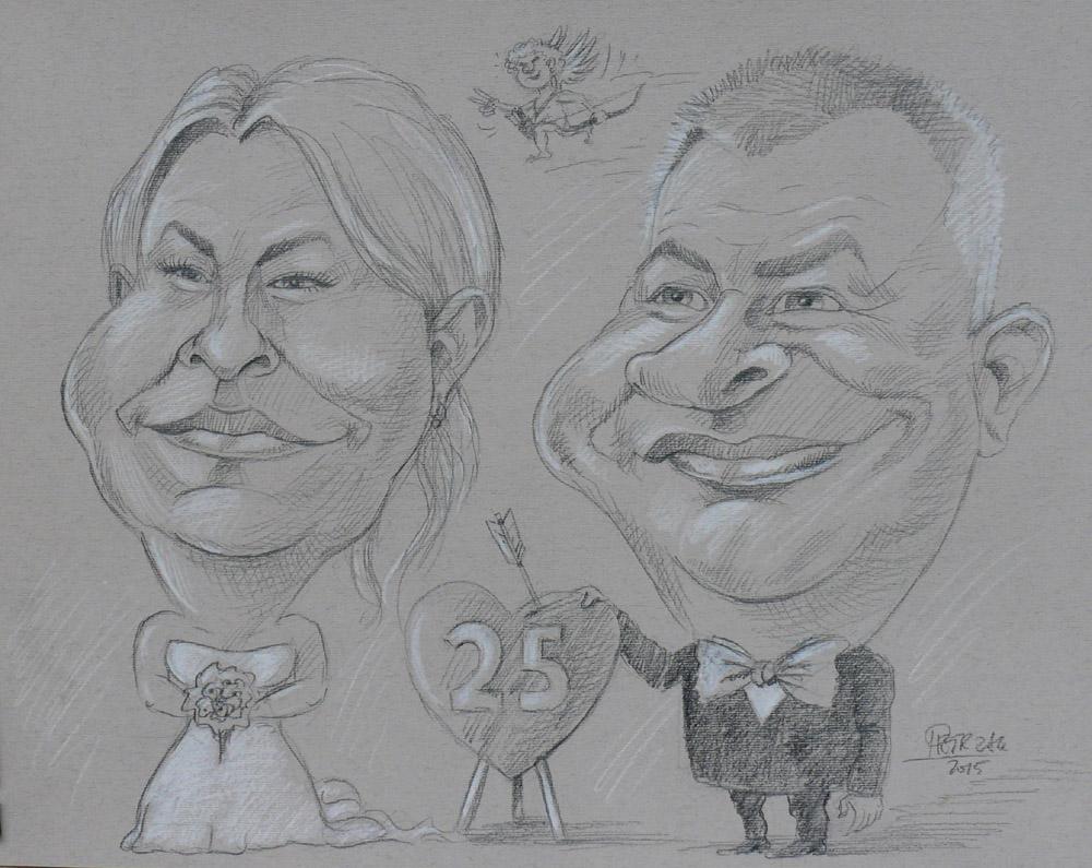 karykatury ze zdjęć, karykatury w prezencie, karykatury na zamówienie, karykatura na rocznicę ślubu, karykaturzysta