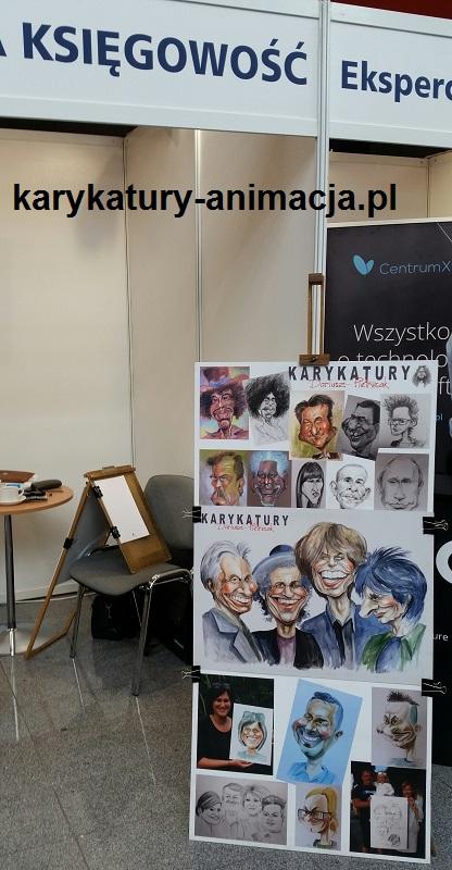 karykaturzysta Kielce, karykatury w Kielcach, karykatury na kongresie w Kielcach, Kielce karykaturzysta