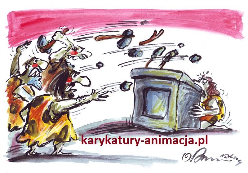 karykatury, karykatura, mowa nienawiści, karykaturzysta