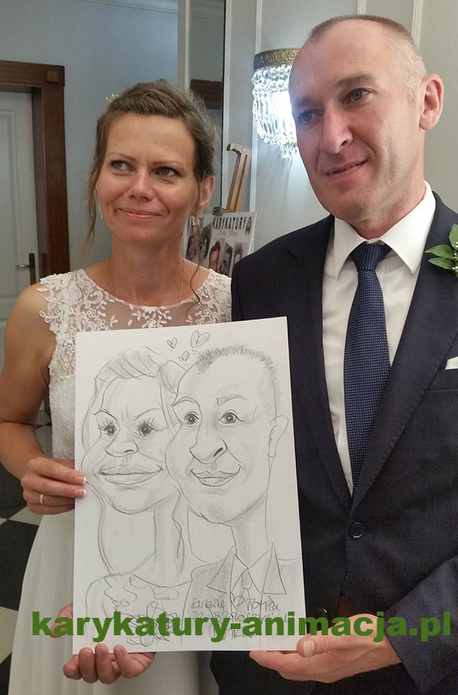 atrakcje weselne, karykatury na weselu, szybki karykaturzysta, karykatura młodej pary, karykatury rodziców, karykatury gości na weselu, rysowanie karykatur na weselu
