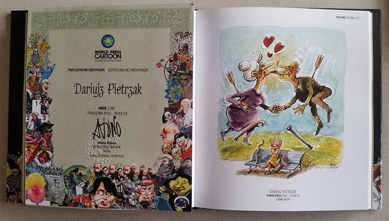 Karykatury, Pietrzak, karykaturzysta, World Press Cartoon, karykatury kolorowe, karykatury na prezent