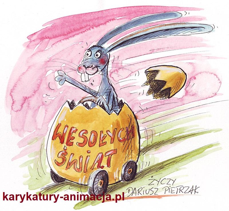 karykatury, humor, Wielkanoc, karykatury ze zdjęć, karykatury na weselu, karykatury na imprezie, karykaturzysta